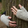 Fingerless mittens from Twist Collection